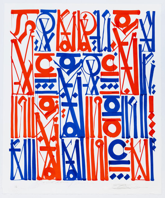 RETNA, 'Sacred Dance Of Memories', 2017, Print, Lithograph, Print Them All