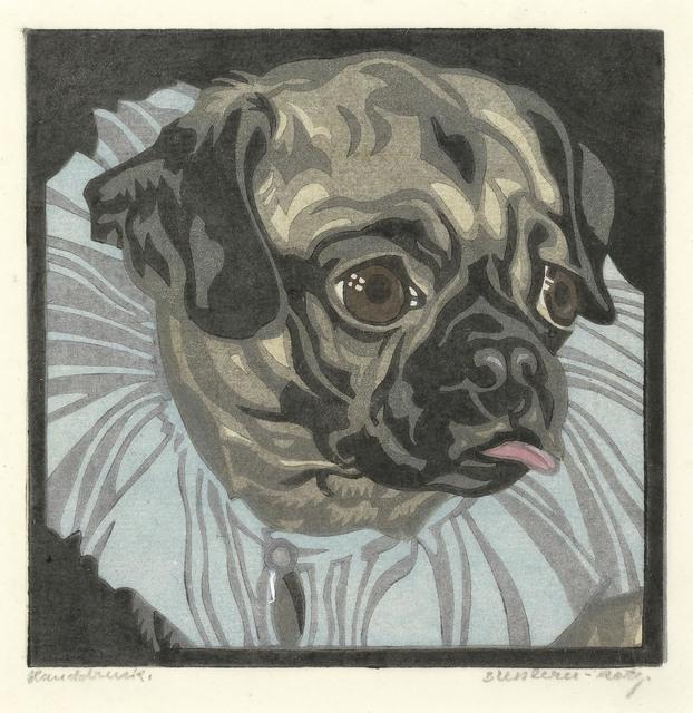 Norbertine Bresslern-Roth, 'Pug', 1926, Galerie Kovacek & Zetter