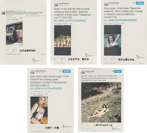 Family Tweets (five works)