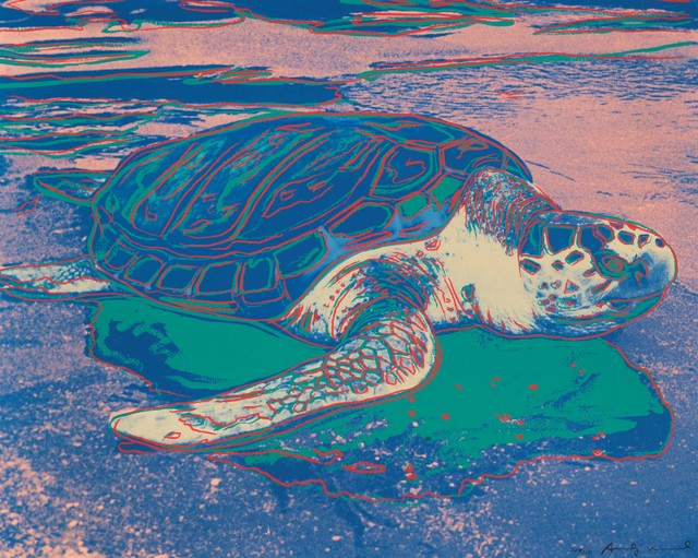 Andy Warhol, 'Sea Turtle', 1985, DANE FINE ART