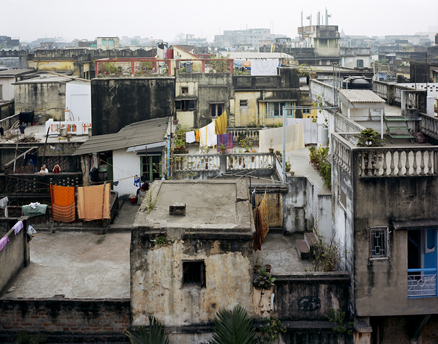 , 'View from the Roof of the Dawn House, North Kolkata,' 2005, Benrubi Gallery