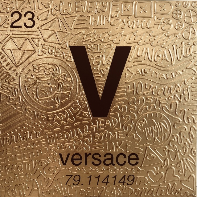 , 'Periodic Table of Relevance Series: VERSACE,' 2018, Contessa Gallery