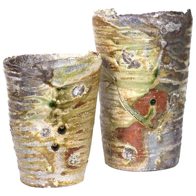 , 'Shiro Otani Wood-Fired Japanese Shigaraki Vessels,' 2015, Jeffrey Spahn Gallery