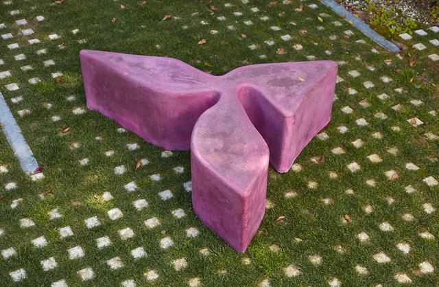 , 'Concrete Sculpture, hot pink,' 2019, Kayne Griffin Corcoran