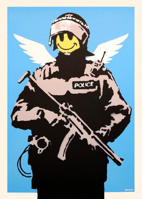 Banksy, 'Flying Copper (Unsigned)', 2004, Prescription Art