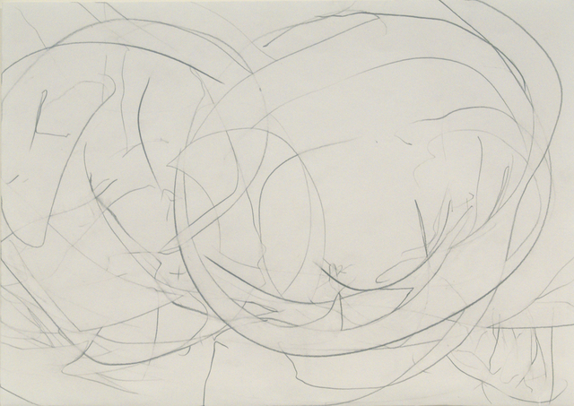 , 'Pencil Drawing 2 - On a Pink and Windy Morning,' 2009, Bernard Jacobson Gallery