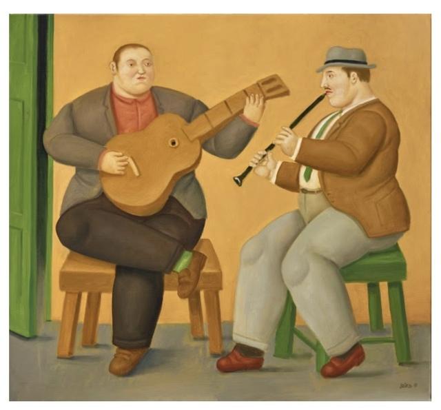 , 'Musicians,' 2019, Ascaso Gallery
