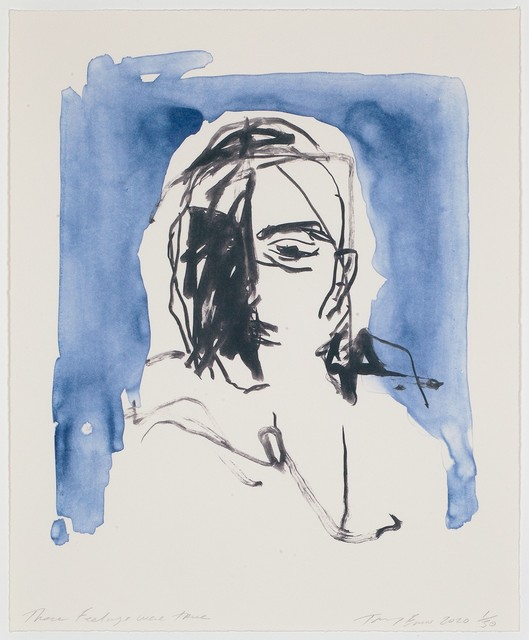Tracey Emin, 'These Feelings Were True', 2020, Print, Lithograph, The Drang Gallery