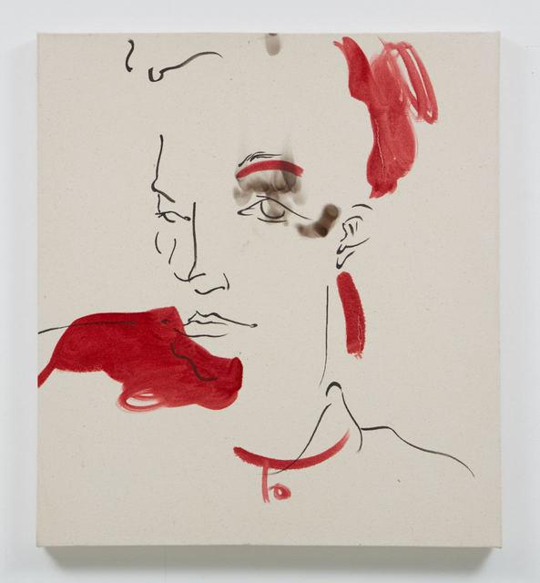 , 'Eye Ashes,' 2016, Evelyn Yard