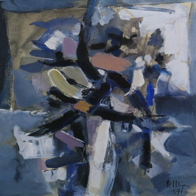 , 'Composition ,' 1957, Galerie Claude Lafitte