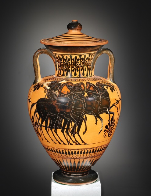 , 'A Black-figure Amphora with Lid, Attributed to the Leagros Group,' , Cahn International