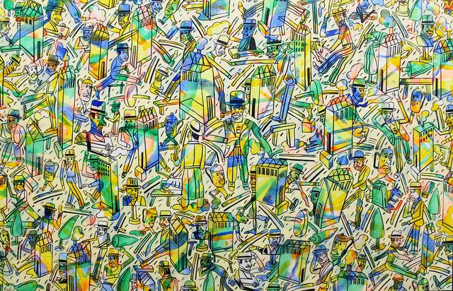 Antonio Seguí, 'Color de barrio', 1986, Roldán Moderno
