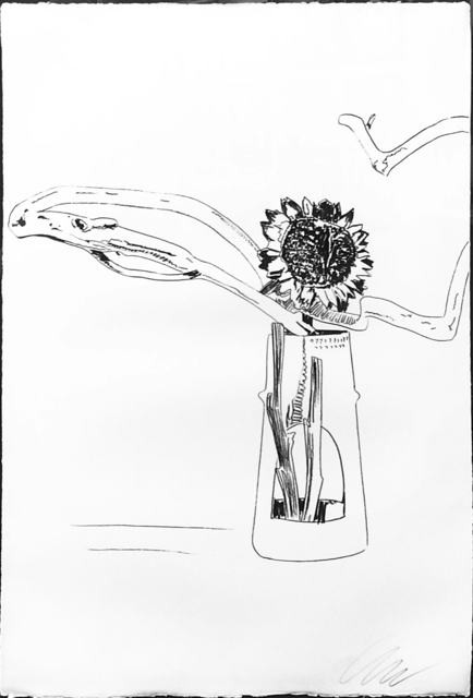 Andy Warhol, 'FLOWERS FS II.102 (BLACK AND WHITE)', 1974, Gallery Art