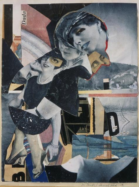 Hannah Höch, 'Da-Dandy', 1919, Mixed Media, Collage, Art Resource