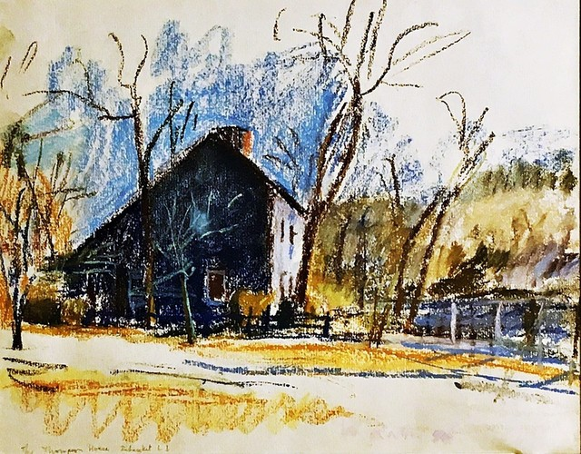 , 'Thompson House on Old Country Road, Setauket, NY (Grace Borgenicht Gallery),' 1980, Alpha 137 Gallery
