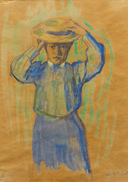 , 'Mädchen mit Hut (Girl with Hat),' 1905, Galerie Herold