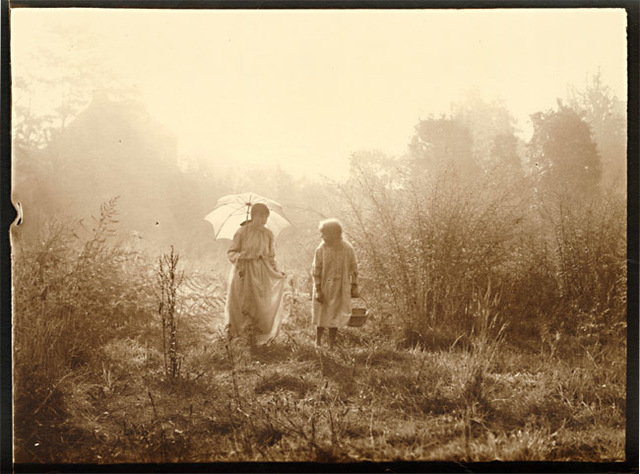 Léonard Misonne, 'A Parasol and a Stroll', 1920s, Contemporary Works/Vintage Works