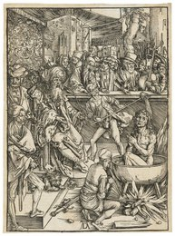 The Martyrdom of Saint John, from: The Apocalypse