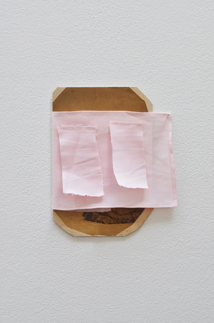 Fergus Feehily, 'Couple', 2013, Painting, Found photograph, cloth, Galerie Christian Lethert