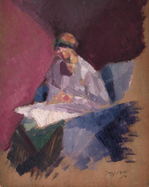 , 'La femme blessée (Yvonne Duchamp),' 1914, Waterhouse & Dodd