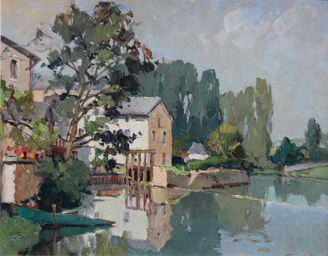 , 'Givray, La Charente - Le Matin, Août,' , Gladwell & Patterson