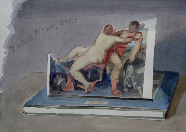 "Marta & Slava, '""This is Titian, baby""', 2018, PontArte"