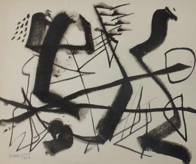 , 'Untitled,' 1954, Lawrence Fine Art