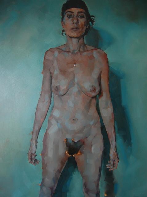, 'Standing Nude,' 2014, Dellasposa