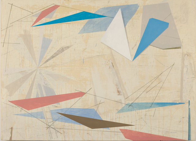 David Collins, 'Rigging 2', 2021, Painting, Acrylic on linen mounted on panel, Susan Eley Fine Art