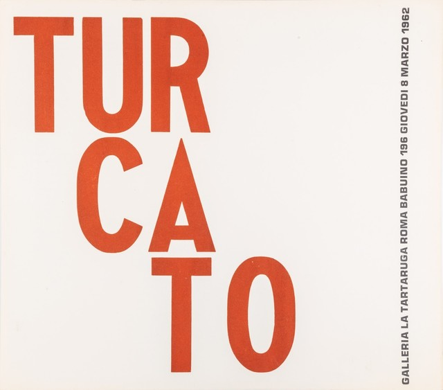 Giulio Turcato, 'Turcato', 1962, Finarte