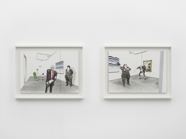 , 'Untitled (It Means It Means; Gonzalez-Torres, Ray, Riley, Watteau),' 2013, Pilar Corrias Gallery