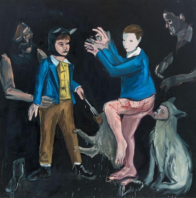 , 'Escuro [Darkness],' 2013, Casa Triângulo