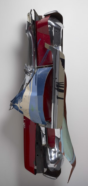 John Chamberlain, 'Rare Meat', 1977, Colby College Museum of Art