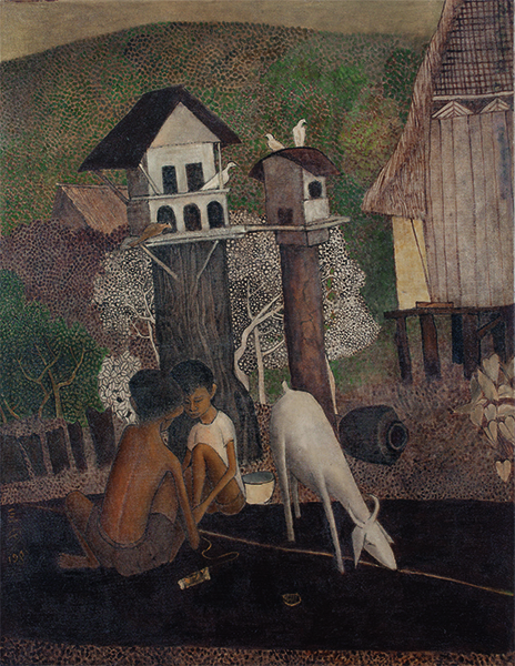 , 'Malay Boy with Goat 馬來男孩與山羊,' 1981, Asia Art Center
