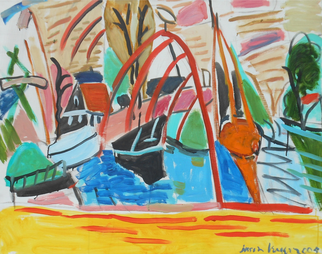 , 'Boatyard, Edam, Holland,' 2005, Childs Gallery