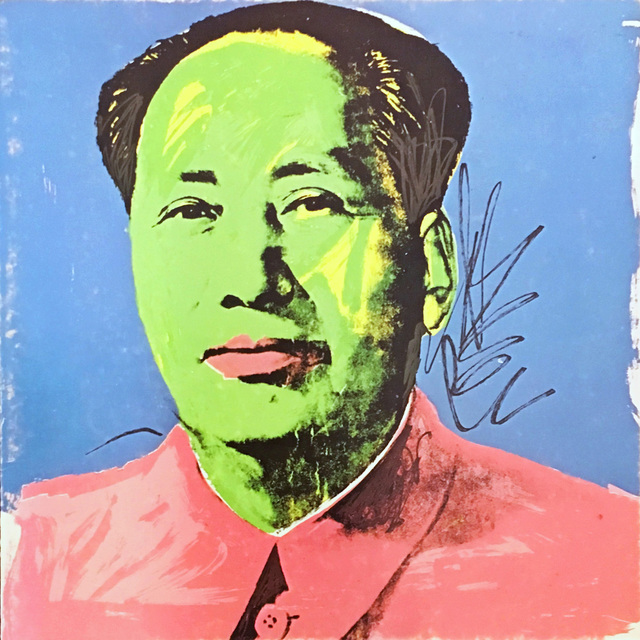 Andy Warhol, 'Andy Warhol Mao invitation card (Leo Castelli) ', 1972, Lot 180