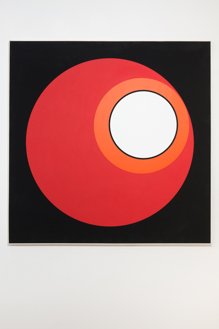 , 'invariant rouge,' 1973, Galerie Denise René