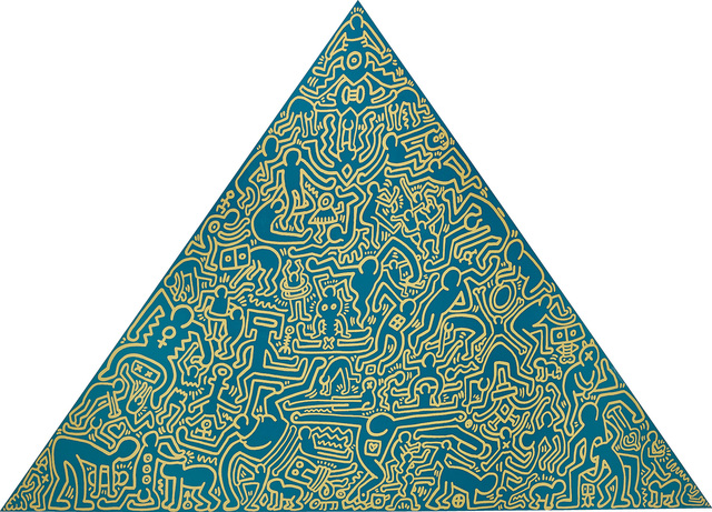 Keith Haring, 'Pyramid', 1989, Phillips
