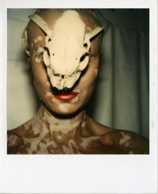 , 'Ohne Titel (Selbst mit Schädel) / Untitled (Self with Skull),' 1979, Galerie Hubert Winter