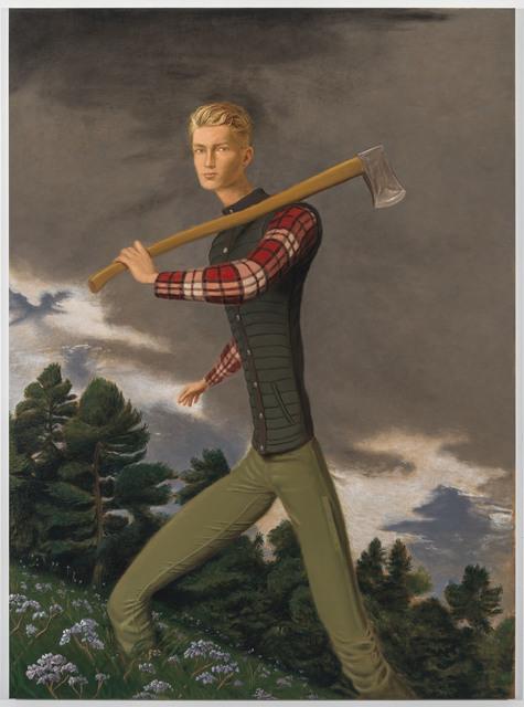 , 'Lumberjack,' 2018, NINO MIER GALLERY