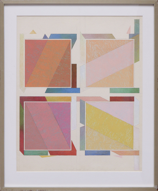 , 'Square Rack Series #33,' 1974, David Richard Gallery