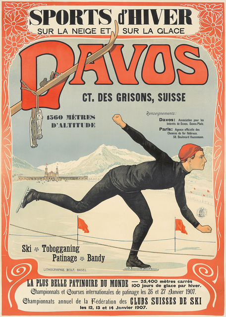 , 'Davos.,' 1907, Rennert's Gallery