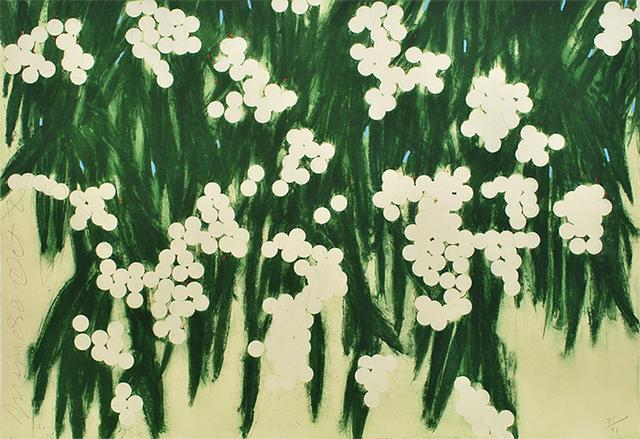 Donald Sultan, 'Mimosas, October 2, 2006', 2006, William Campbell Contemporary Art, Inc.