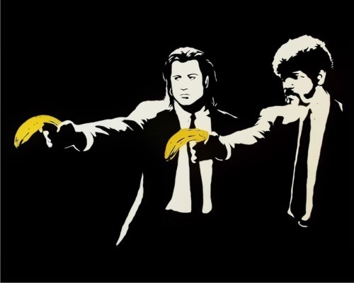 Banksy, 'Pulp Fiction Unsigned', 2004, Lionel Gallery
