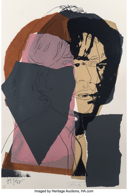 Andy Warhol, 'Mick Jagger', 1975, Heritage Auctions