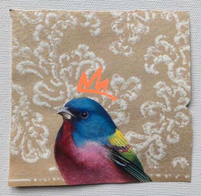 , 'Painted Bunting,' 2019, Morton Fine Art