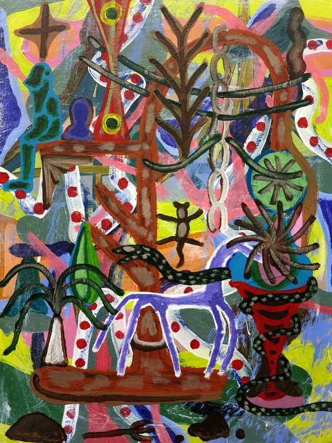 , 'garden head,' 2016, Projet Pangée