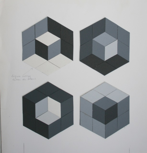 , 'Tridim-Q,' 1977, Galerie du Griffon