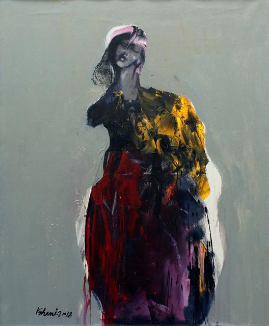 Khalid El-Khani, 'Yellow & Red', 2018, Orient Gallery