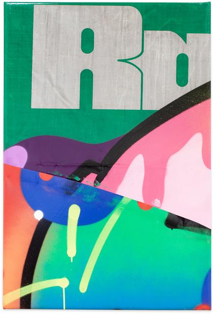 Moses & Taps™, 'FLICKWERKTM XV', 2020, Painting, Spray Paint on PVC (freight wagon tarpaulin), KOLLY GALLERY